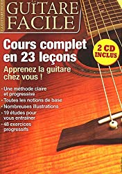 La guitare facile : Cours complets en  23 leçons (2CD audio)