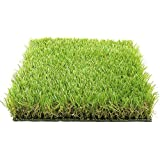 Kuber Industries 45mm Arificial Grass for Floor, Soft and Durable Plastic Natural Landscape Garden Plastic Door Mat, Artificial Grass(60 cm x 38 cm x 1.5 cm) Grassmat07
