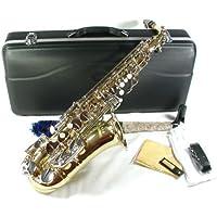 Cherrystone 4260180881646 saxofón con el carcasa LN / accesorios de oro / plata
