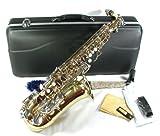 Cherrystone 4260180881646 Alt Saxophon mit Koffer/Zubehör LN gold/silber