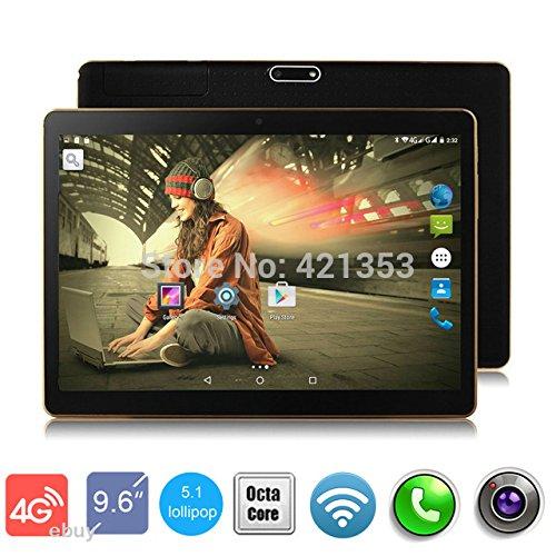 4G LTE 10 inch 8 core Tablet PC black Octa Cores 2560X1600...