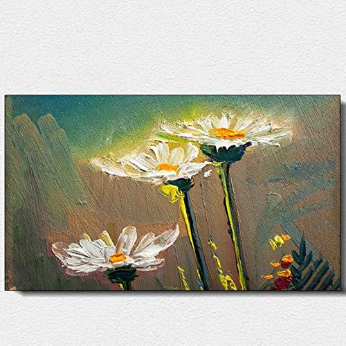 GCC Duolang Wand warme Handmalerei Carbon Crystal Heizungs Wand Mount Kühler Heizungs Platte Graphen Heizung Daisy Blüte 1000W -