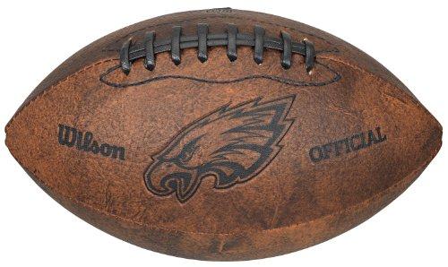 Gulf Coast Sales NFL Vintage Throwback Fußball, 22,9 cm, Spielzeuge und Schuhe, Philadelphia Eagles (Jungen Eagle Schuhe American)