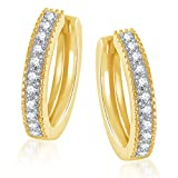 MEENAZ white Gold Plated 24k In American...