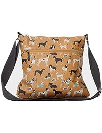 85c8addd90 Dogs Shoulder Bag Mustard Yellow Westie Boxer Scottie Dog Pug Crossbody  Ladies Across body Cross Body