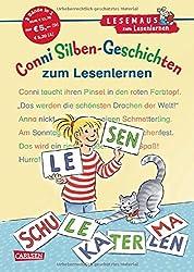 LESEMAUS zum Lesenlernen Sammelbände: Conni Silben-Geschichten zum Lesenlernen: Extra Lesetraining - Lesetexte mit farbiger Silbenmarkierung