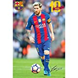 #10: F.C. Barcelona Large Poster Messi 14