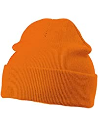 MB KNITTED SOFT FEEL CAP BEANIE HAT - 14 COLOURS