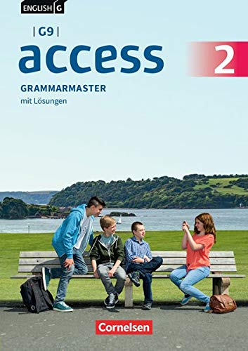 English G Access - G9 - Ausgabe 2019: Band 2: 6. Schuljahr - Grammarmaster: Mit Lösungen