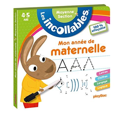 Mon année de Maternelle 100% effacables MS por Play Bac