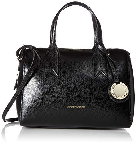 EMPORIO ARMANI Twin Handle Femme Handbag Noir
