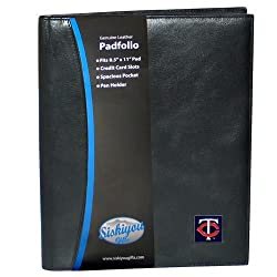 MLB Minnesota Twins Leather Portfolio
