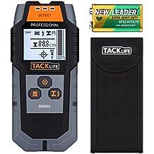 Detector de Pared, Tacklife DMS03 Detector de Metal, Madera y AC Cable, Escáner