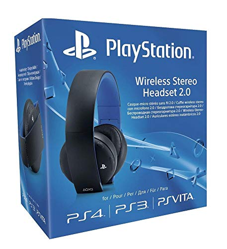 PlayStation 4 Wireless Stereo Headset 2.0, schwarz