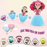 Goolsky Mode Cartoon Schöne Überraschung Cupcake Prinzessin Puppe Mini Schöne Nette Kuchen Puppe Spielzeug Geburtstagsgeschenk für Mädchen
