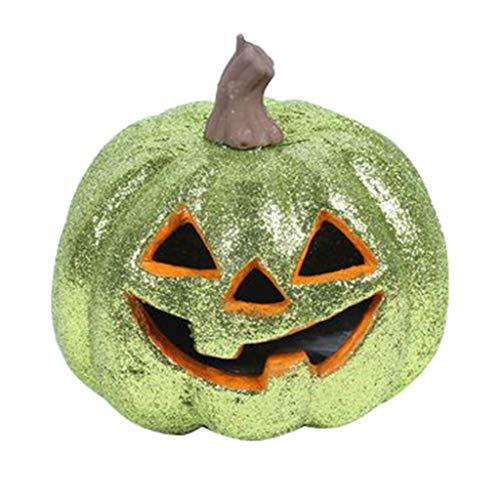Mitlfuny Halloween coustems Kürbis Hexe Cosplay Gast Ghost Schicke Party Halloween deko,Leuchtmaske Halloween Kostüm Party Maske Vollgesichtsmaske für - Säuglings Ghost Kostüm