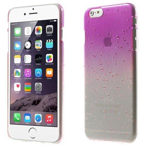 iPhone 6S Plus cas, iPhone 6Plus, fogeek Gouttes d'eau 3D dégradé Couleur des Couverture rigide en plastique cas pour iPhone 6S Plus/6plus rose