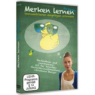 Gedächtnistraining für Kinder mit Christiane Stenger - Merken Lernen für Kinder (DVD) besser einprägen, leichter lernen, besser erinnern