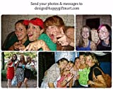 Personalized Jigsaw Puzzle A4 Size With Your Photo & Message or Cartoon Character