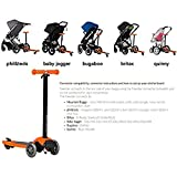 Mountain Buggy Freerider Scooter schwarz/orange