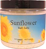 Sunflower Bath Salts, 16 ounces