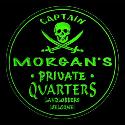 4x-ccpw0508-g-morgans-captain-quarters-pirate-skull-bar-beer-3d-drink-coasters