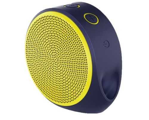 Logitech X100 Bluetooth Wireless Speaker Yellow