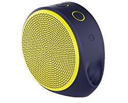 Logitech X100 Wireless Bluetooth Speaker Yellow