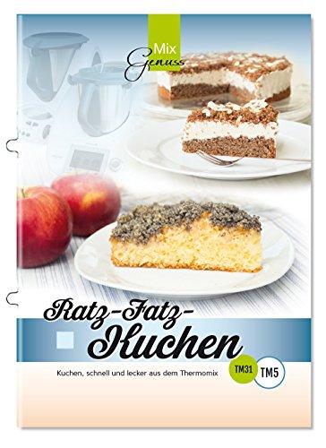 Buchseite und Rezensionen zu 'Ratz-Fatz-Kuchen: Kuchen, schnell und lecker aus dem Thermomix' von Corinna Wild