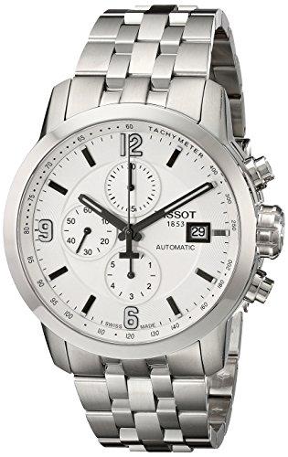 Tissot T0554271101700–Uhr, Edelstahl-Armband Silber