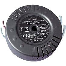 ETT - Transformador electrónico para halógenos (230 V a 11,5 V, 100-300 W)