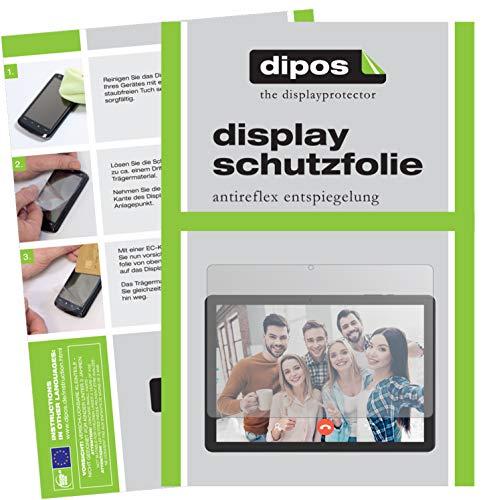 dipos I Schutzfolie matt kompatibel mit Vankyo MatrixPad Z4 10 Zoll Displayschutz-Folie