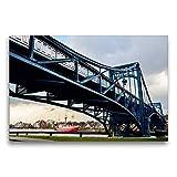 Leinwand EIN Motiv aus dem Kalender Kaiser-Wilhelm-Brücke