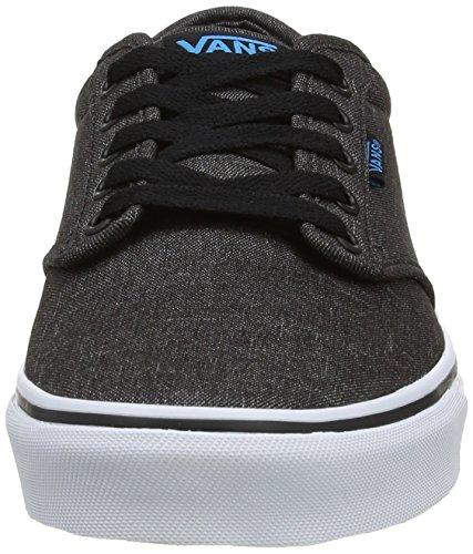 Grau Textile M Haw Bk B Buck Vans Cuir Basse Atwood Uomo Sneaker 8PWzqHpW
