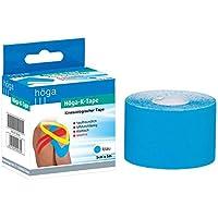 Preisvergleich für Höga Pharm kinesiologischer Tape, 5 cm x 5 m, blau, 1er Pack (1 x 96 g)