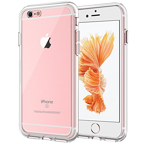 JETech Case for Apple iPhone 6 Plus and iPhone 6s Plus, Shock-Absorption Bumper Cover, Anti-Scratch Clear Back (HD Clear)