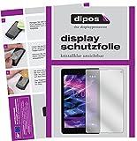 dipos I 2X Schutzfolie klar passend für Medion Lifetab P8524 Folie Bildschirmschutzfolie