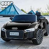 Best Audi enfants voitures électriques - Voiture électrique 12V Audi Spyder Noire Review