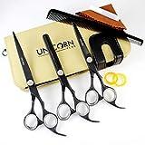Unicorn Plus - Pro Friseurschere, Hundeschere, Gerade Schere 7,5