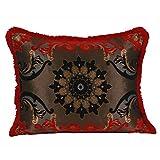 Casa Moro Marokkanisches Deko Kissen Zierkissen Couchkissen Sofakissen Motivkissen Mina-Rot Größe: ca. 70x55 cm