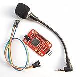 SATKIT Placa reconocimiento Voz para Arduino (hasta 15 comandos de Voz)