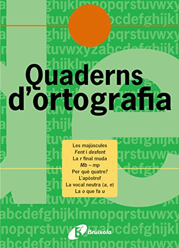 Quadern d'ortografia 4 (Català - Material Complementari - Quaderns D¿Ortografia) - 9788483047682