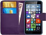 Microsoft Lumia 640 / 640 Dual Sim Hülle Leder Klapphülle