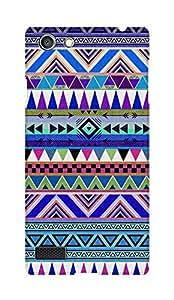 ZAPCASE PRINTED BACK COVER FOR OPPO NEO 7 Multicolor