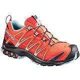 Salomon Damen Xa Pro 3D GTX W Traillaufschuhe, Orange (Black/Canal Blue), 40 2/3 EU