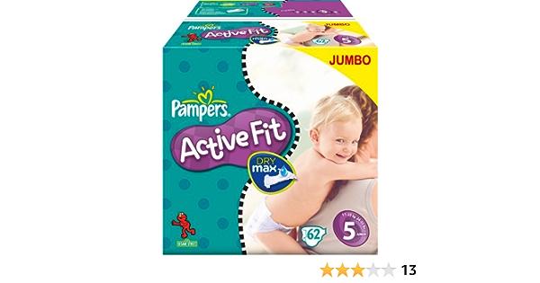 Gr/ö/ße 4 Monatspackung Pampers Babywindeln Active Fit getapte Babywindel 168 St/ück 9/–15 kg