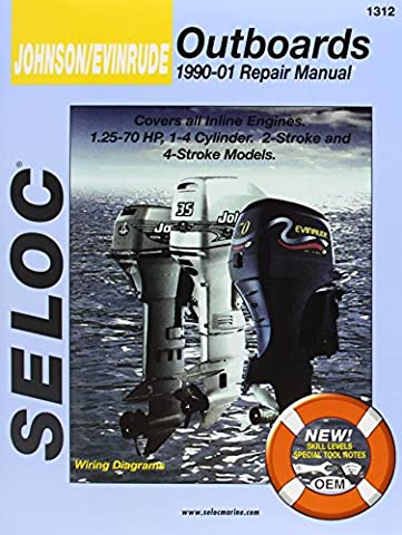 Johnson/Evinrude Outboards 1996-01 Repair Manual: All Inline Engines, 2 and 4-Stroke, 1-4 Cyl