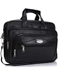 Trajectory Elegant Black Messenger and Laptop Bag for Professionals