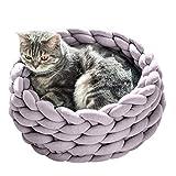 Covermason Warm Bett Winter Haustierbett für Hunde, Welpe, Katzen und Kleintiere Hundebett Katzenbet