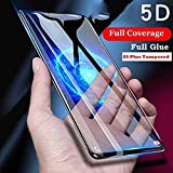 Own ShopTM Samsung Galaxy S9 Plus Tempered Glass 5D Original Full Glue 5D Tempered Glass For Samsung Galaxy S9 Plus 5D Tempered Glass Screen Protector Anti-Fingerprint [9H Hardness] Edge-to-Edge S9 Plus 5D Tempered Full Glue Easy Installation [Black]